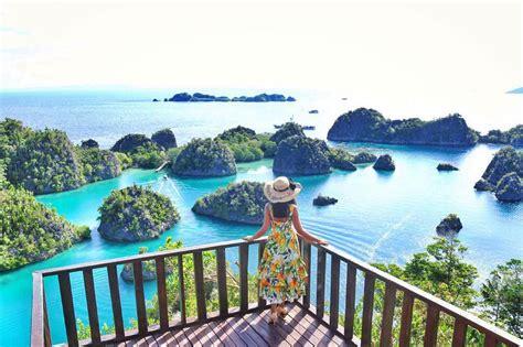 destinasi wisata raja ampat  dianggap surganya indonesia