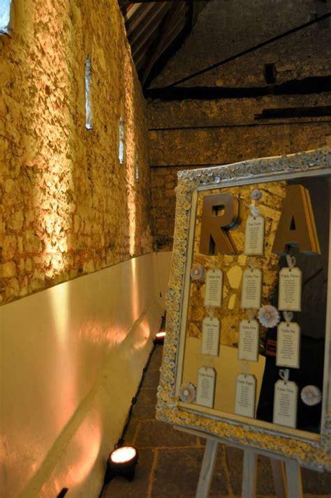 gold uplighting for weddings highlighting beautiful stone