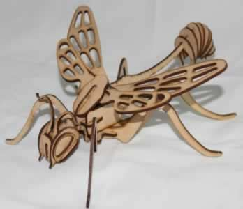 insect puzzle 3d dxf downloads files for laser cutting and cnc router artcam dxf vectric