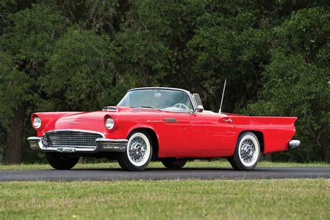 57 Thunder Bird by The 1957 Ford Thunderbird Almost Killed The Corvette
