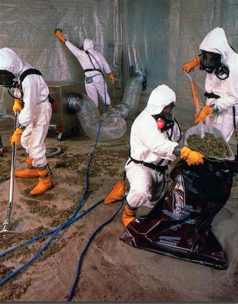 asbestos abatement removal services water damage