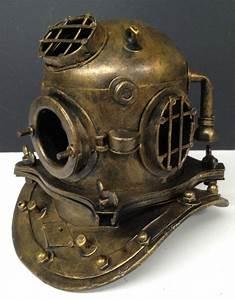 Buy Metal Antique Style Mini Diving Divers Deep Sea Helmet ...