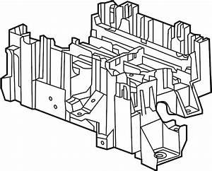Chevrolet Tahoe Junction Block Bracket  Engine Compartment