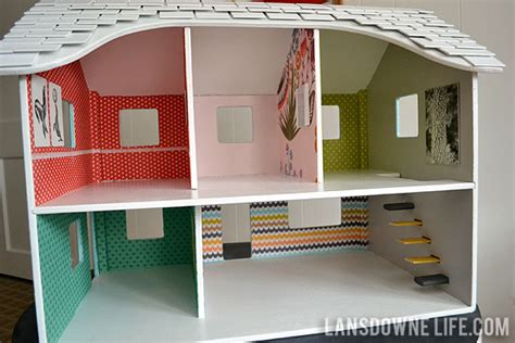 Modern Diy Dollhouse With Homemade Furniture (part 1 Of 6