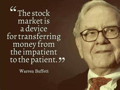 Stock Quote Warren Buffet On Stock Market Food For Thought