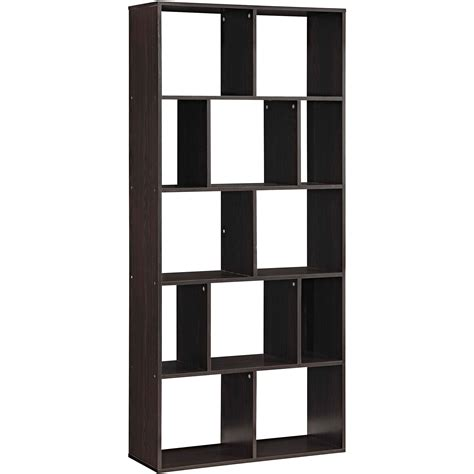 Bookshelf 29 High by Wide 3 Shelf Bookcase Finishes Walmart