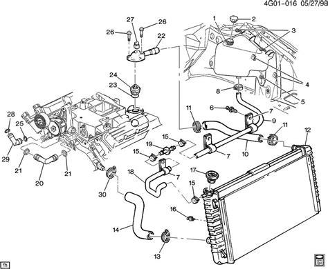 92 Grand Am Engine Diagram by Hoses Pipes Radiator V6