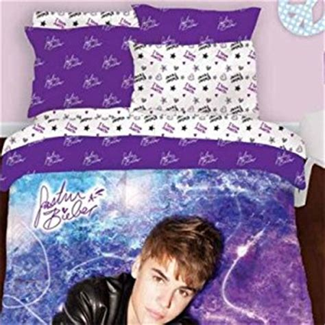 amazon com justin bieber concert twin comforter set