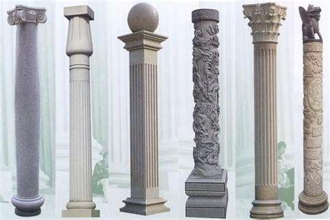 desain tiang teras batu alam klasik mewah  modern