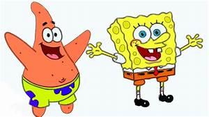 Spongebob and Patrick: Speed Drawing - How to Draw ...