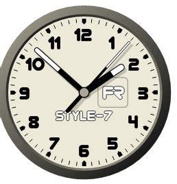 afficher horloge sur bureau comment affichez une horloge sur votre bureau