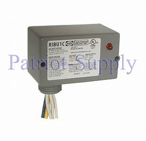 Universal 24  120v Ribu1c Relay In A Box Hvac Control