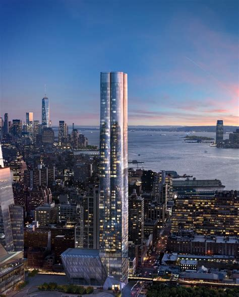 story  unit residential tower  hudson yards rises