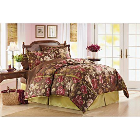 better homes and gardens bedding better homes and gardens orchid moss 4 comforter set