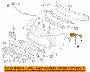Toyota Oem 2018 Camry Front Bumper Grille Grill