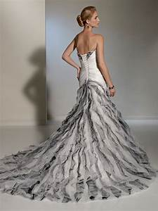 lovely black and silver wedding dress With black and silver wedding dress