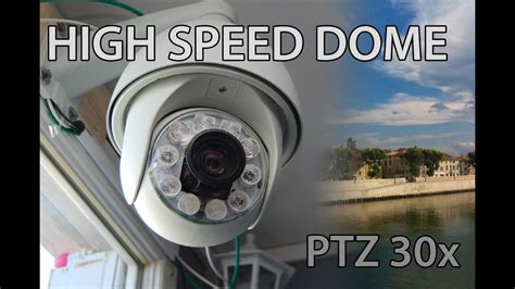 high speed dome camera ptz ir cctv  auto tracking