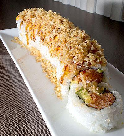 Crunchy Tuna Sushi