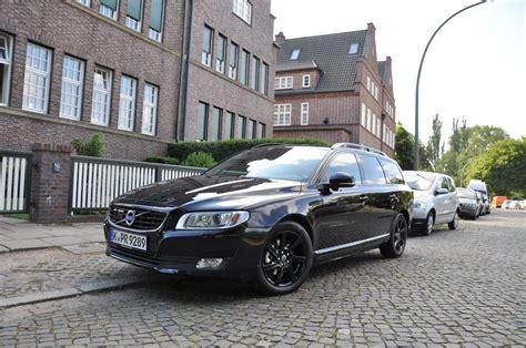 kurz gefahren der volvo  black edition automobil blog