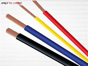 China Heat Resistant Copper Conductor Pvc Insulated Wire