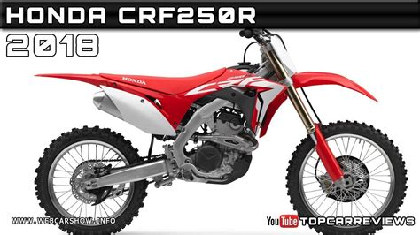 2018 Honda Crf250r Review Rendered Price Specs Release