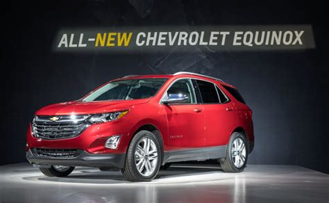 Gm Chevrolet by All New 2018 Chevy Equinox Accounted For 4 500 Sales In