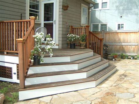 small backyard fragrant garden deck view   patio