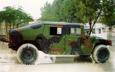 humvee side view 118th military police company m 1025 high mobility multi