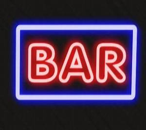 Second Life Marketplace bar neon