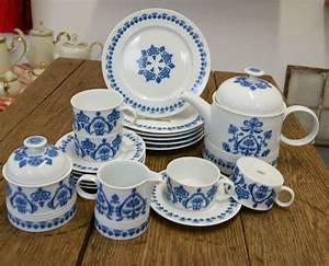 Friesland Geschirr Blau : melitta friesland porzellan jeverland friesisch blau 21 tlg teeservice tee tasse antiquit ten ~ Whattoseeinmadrid.com Haus und Dekorationen