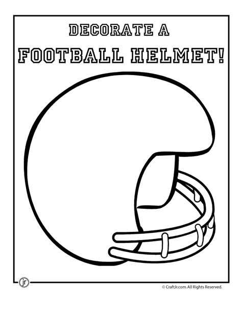 football helmet template blank football helmet coloring page pictures to pin on pinsdaddy