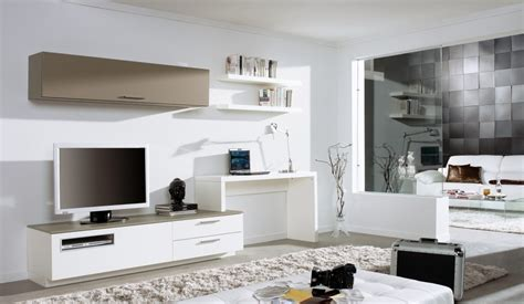 Wall Units With Desk Tv And Bookshelves American Hwy For