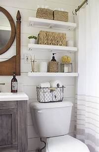 over toilet shelf 32 Best Over the Toilet Storage Ideas and Designs for 2019