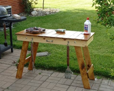 grill side table outdoor anyone know of a weber kettle table mod the bbq