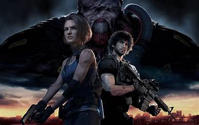 Resident Evil Characters Remake Resolution Wallpapers