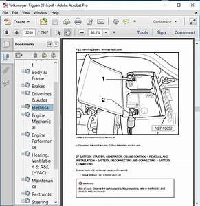 Volkswagen Tiguan 2016 Workshop Service Repair Manual