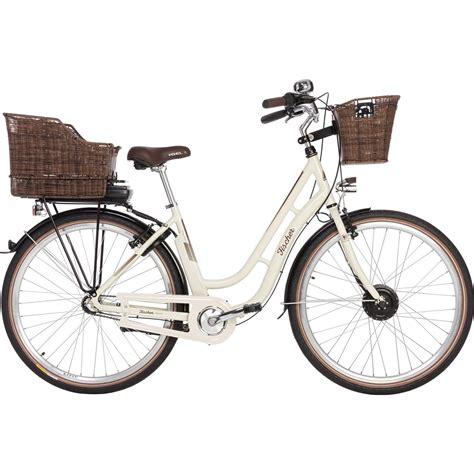 retro e bike damen fischer e bike city retro er 1804 s2 creme gl 228 nzend kaufen