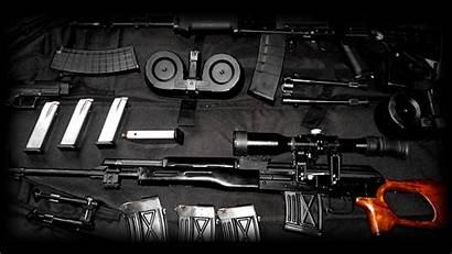 Sniper Scope Rifle Dragunov Desktop Svd Wallpapers