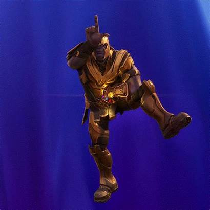 Fortnite Thanos Skin Snap Gifs Dance Transparent