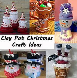Clay Pot Christmas Crafts