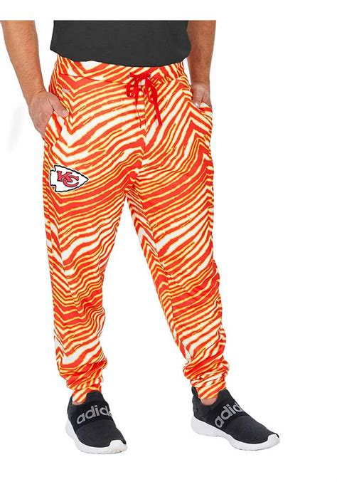 Zubaz pants were popular among 80s bodybuilders the designers formed their company with the slogan dare to be different, and in that spirit they made their pants with crazy designs. Zubaz Kansas City Chiefs Mens Red Zebra Fleece Pants ...