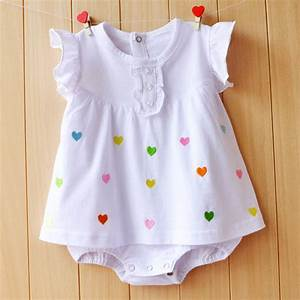 Baby Girl Rompers Summer Girls Clothing Sets Roupas Bebes ...