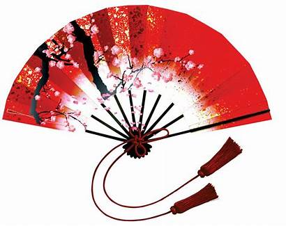 Chinese Clip Decorations Fan Traditional Arts Printable