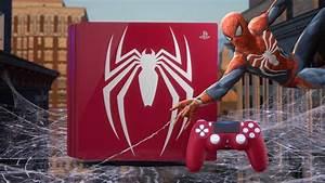 Limited Edition Spider-Man PlayStation 4 Pro ziet er ...