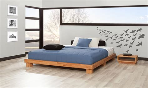 wood bed frame king platform bed without headboard designs groot home