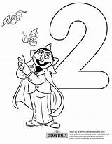 Sesame Coloring Count Street Pages Von Face Printable Seasame Birthday Comic Counting Number Bustartist Grow Ernie Burt Colors Popular 2nd sketch template