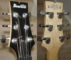 Ibanez Gax70 User Manual