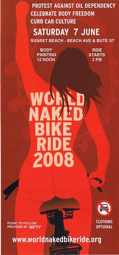 Bike Vancouver Ride Poster Naked Bc Largest