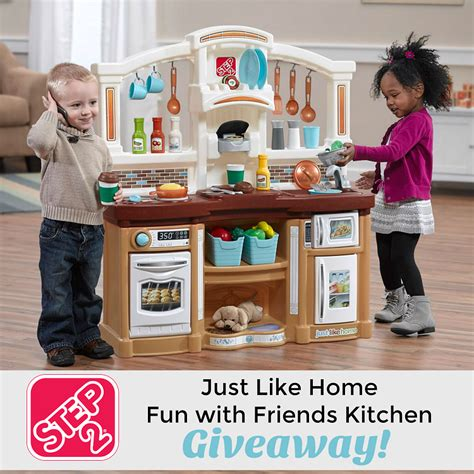 just like home kitchen step2 just like home with friends kitchen giveaway