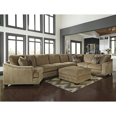 ashley lonsdale 2 piece left cuddler sofa sectional set in